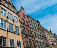 Houses in old town of Gdansk Stock Photography