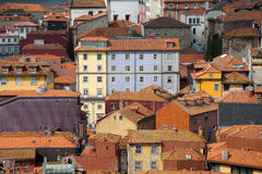 Houses in the Old Town of Porto in Portugal Royalty Free Stock Images