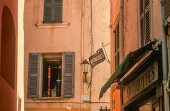Houses in the old town of Saint Tropez Royalty Free Stock Photography