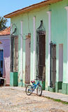 Houses in the old town, Trinidad, Cuba Royalty Free Stock Photography