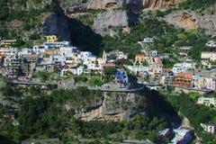 Free Houses On Cliff In Amalfi Coast Stock Image - 59465101