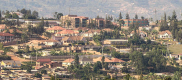 Free Houses On The Hills Of Kigali Royalty Free Stock Photos - 73226048