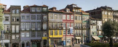 Houses of Oporto Royalty Free Stock Images