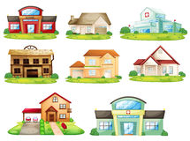 Houses and other building Stock Photos