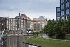 Houses and palaces in Berlin Stock Photography