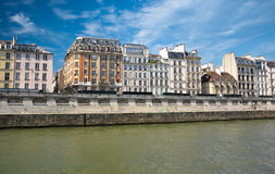 Houses in Paris France Stock Photography