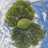 Houses of Parlaiment in the park, - 360 degree panorama Stock Photo