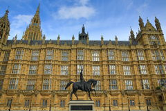 Houses of Parlament, Big Ben, London, England Royalty Free Stock Image