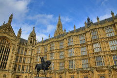 Houses of Parlament, Big Ben, London, England Stock Image