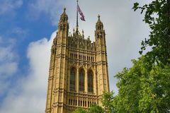 Houses of Parlament, Big Ben, London, England Stock Photo