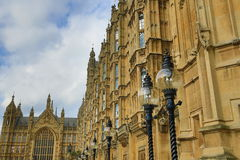 Houses of Parlament, Big Ben, London, England Stock Photos
