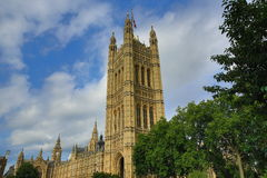 Houses of Parlament, Big Ben, London, England Royalty Free Stock Photography
