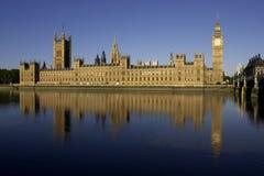 houses parlamentet Arkivbild