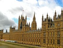 Houses of Parliament 01. The famous Houses of Parliament in London, England, UK Stock Photos