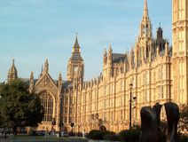 Houses of Parliament. And Big Ben royalty free stock photography