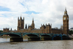 Houses of Parliament. In London UK Royalty Free Stock Image