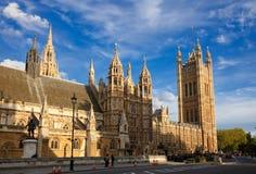 Houses of Parliament. London, UK Stock Photos