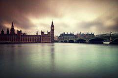 Houses of Parliament. Gloomy and dark images of Houses of Parliament Royalty Free Stock Images