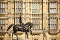 Houses of Parliament. Site in London Royalty Free Stock Images