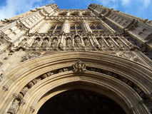 Houses of parliament. The houses of parliament central London UK Royalty Free Stock Photos