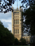 Houses of parliament. The houses of parliament in central London UK Royalty Free Stock Images