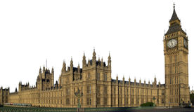Houses of the Parliament. In London Stock Image