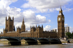 Houses of Parliament. London Royalty Free Stock Image