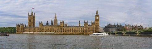Houses of Parliament. And Westminster bridge Stock Image