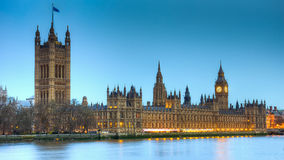 The Houses of Parliament Stock Photography