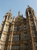 Houses of Parliament. The English parliament (London Royalty Free Stock Photos