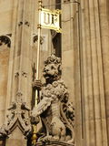 Houses of Parliament. The English parliament (London Royalty Free Stock Photography