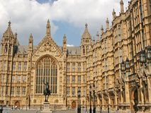 Houses of Parliament. The English parliament (London Stock Photography