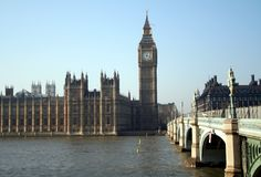 Houses of Parliament. Houses Parliament and Big Ben Royalty Free Stock Photography
