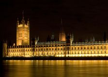 Houses of parliament. London royalty free stock photo