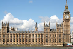 Houses of Parliament. London Stock Image