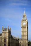 The Houses of Parliament and the Big Ben Royalty Free Stock Photo