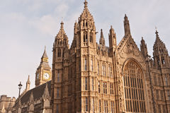 Houses of Parliament and Big Ben. Stock Photography