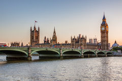 Houses of Parliament and Big Ben Royalty Free Stock Photography