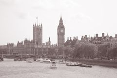 Houses of Parliament and Big Ben, London Royalty Free Stock Photo