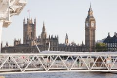 Houses of Parliament and Big Ben, London Stock Images