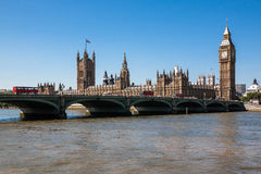 Houses of Parliament and Big Ben Royalty Free Stock Image