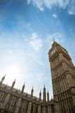 Houses of Parliament and Big Ben in London Stock Images
