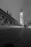 The Houses of Parliament and with Big Ben at night stock photos