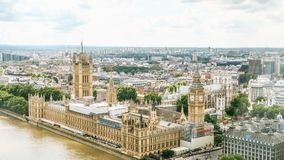 Houses of Parliament and Bigben Royalty Free Stock Photo