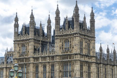 Houses of Parliament. Detail of Houses of Parliament Stock Images