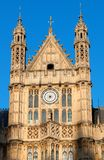 Houses of Parliament, detail Royalty Free Stock Photography
