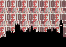 Houses of parliament illustration Royalty Free Stock Images