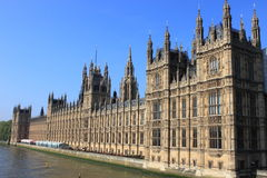 Houses of Parliament in London royalty free stock images