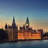 Houses of Parliament, London. Royalty Free Stock Images