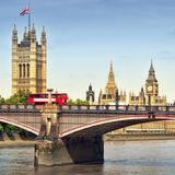 Houses of Parliament, London. Royalty Free Stock Photo